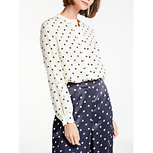 Buy Bruce by Bruce Oldfield Silk Spot Blouse, Multi Online at johnlewis.com