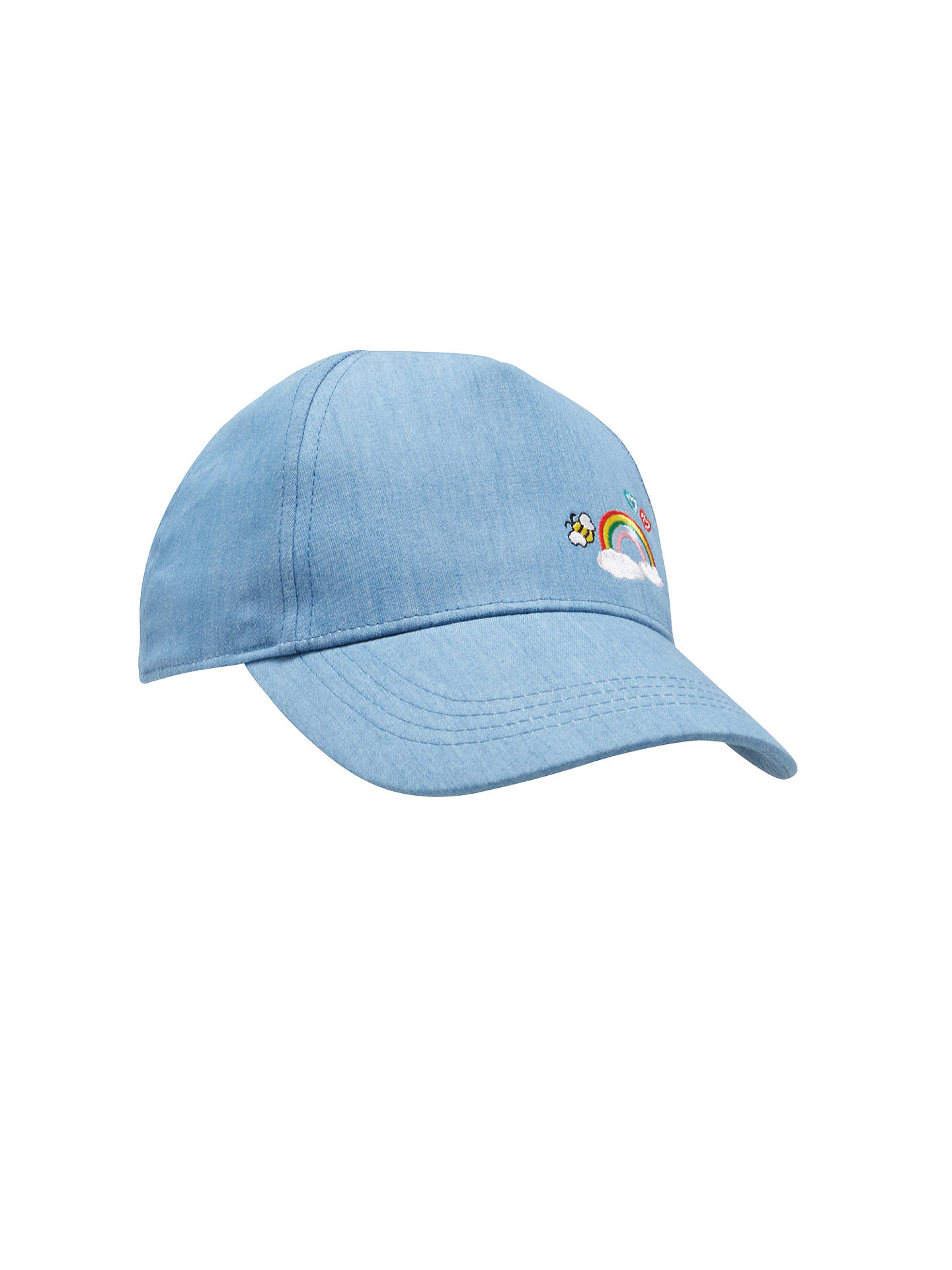 a8a3c539ec5 BuyJohn Lewis Children s Rainbow Chambray Baseball Cap