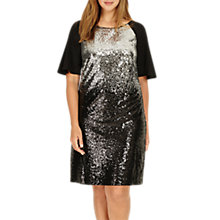 Buy Studio 8 Halle Sequin Embellished Dress, Black/Silver Online at johnlewis.com