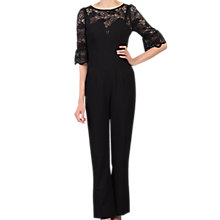 Buy Jolie Moi Petite Lace Insert Jumpsuit Online at johnlewis.com