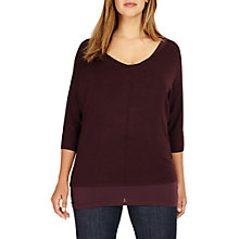 Buy Studio 8 Carmen Knit Jumper, Deep Wine Online at johnlewis.com