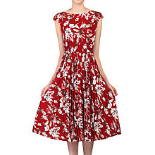 Buy Jolie Moi Floral Print Pleated Tea Dress Online at johnlewis.com