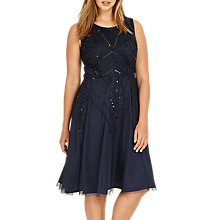 Buy Studio 8 Erin Dress, Navy Online at johnlewis.com