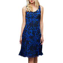 Buy East Oriental Rose Pleat Dress, Multi Online at johnlewis.com