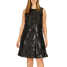 Buy Studio 8 Elektra Dress, Black Online at johnlewis.com