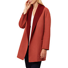 Buy Jaeger Double Faced Wool Rich Duster Coat Online at johnlewis.com