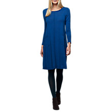 Buy East Merino Swing Pocket Dress, Dark Teal Online at johnlewis.com