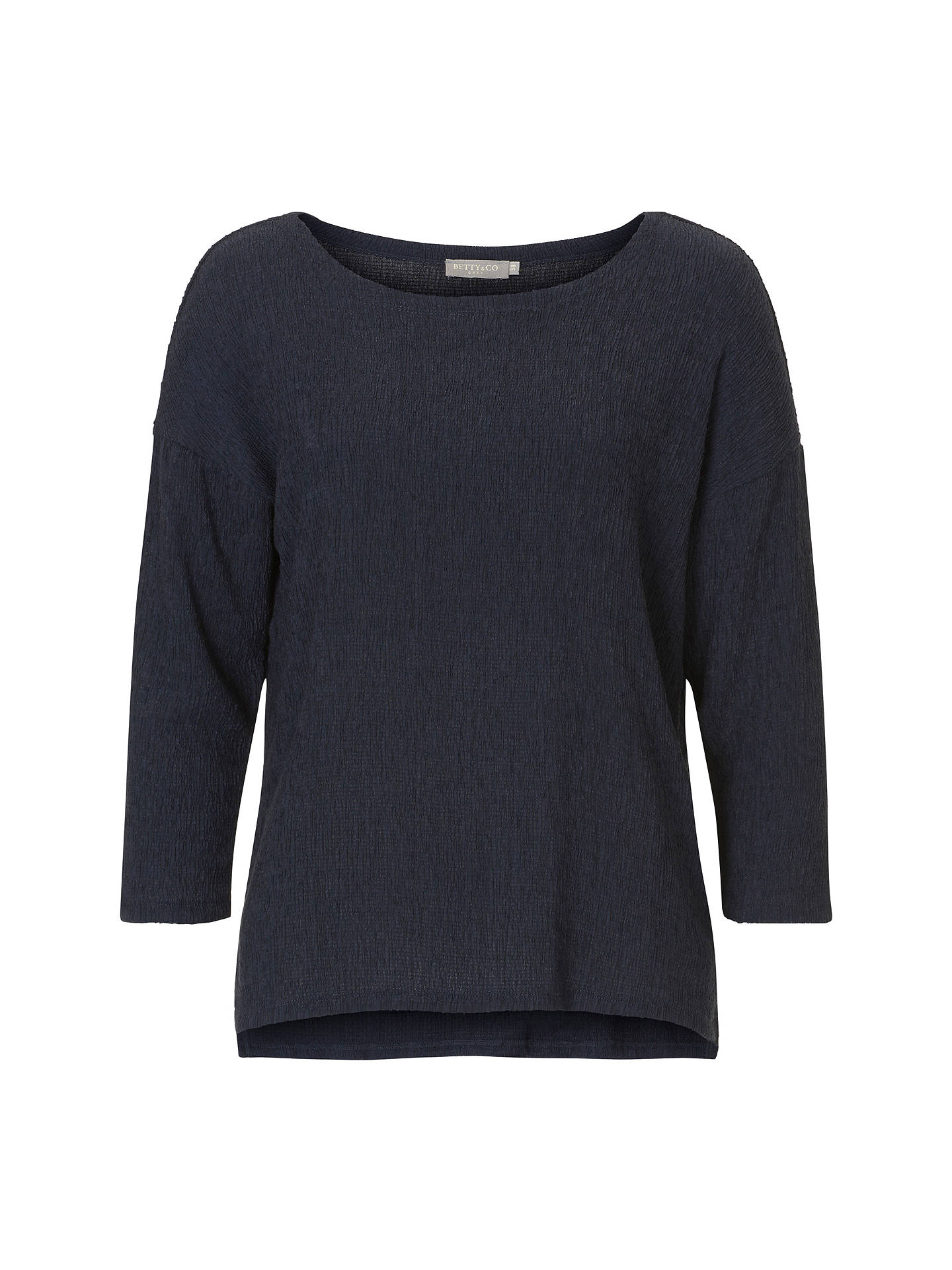 BuyBetty & Co. Textured Top, Mood Blue, 10 Online at johnlewis.com