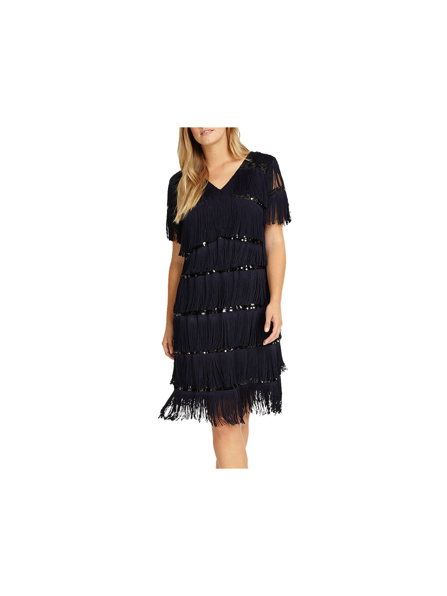 Buy Studio 8 Holly Dress, Navy/Black, 12 Online at johnlewis.com