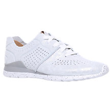 Buy UGG Tye Lace Up Trainers, Silver Online at johnlewis.com