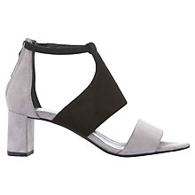 Buy Mint Velvet Rosey Block Heeled Sandals, Mink Online at johnlewis.com
