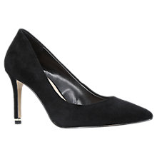 Buy Carvela Aruba Stiletto Heeled Court Shoes, Black Online at johnlewis.com