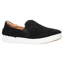 Buy UGG Ricci Slip On Trainers, Black Online at johnlewis.com