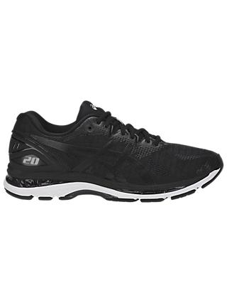 ASICS GEL-NIMBUS 20 Men's Running Shoes, Black/Carbon