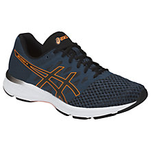 Buy Asics GEL-Exalt 4 Men's Running Shoes, Blue/Black/Orange Online at johnlewis.com
