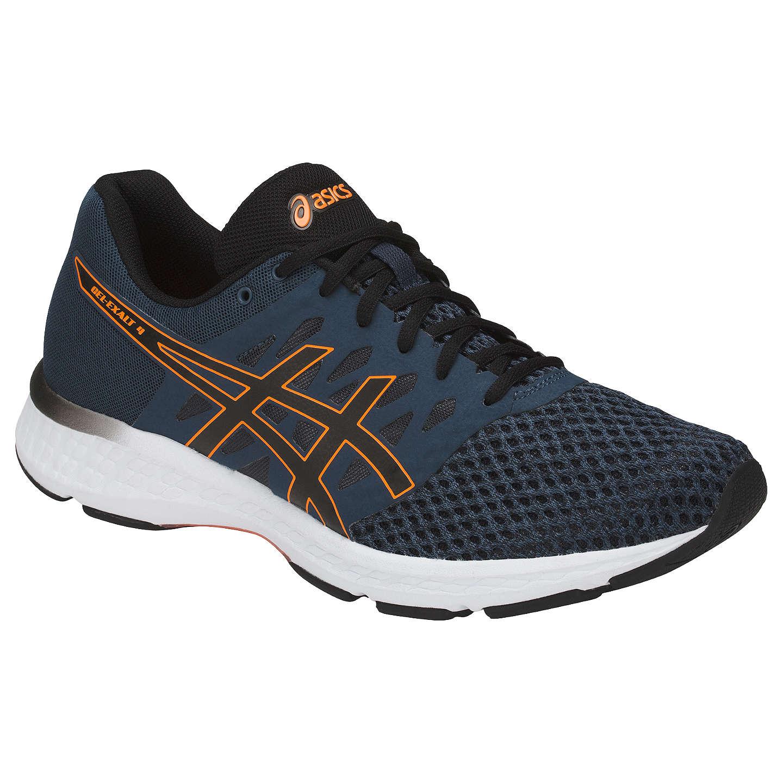 BuyAsics GEL-Exalt 4 Men's Running Shoes, Blue/Black/Orange, 7 ...