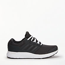 Buy Adidas Galaxy 4 Women's Running Shoes, Core Black Online at johnlewis.com