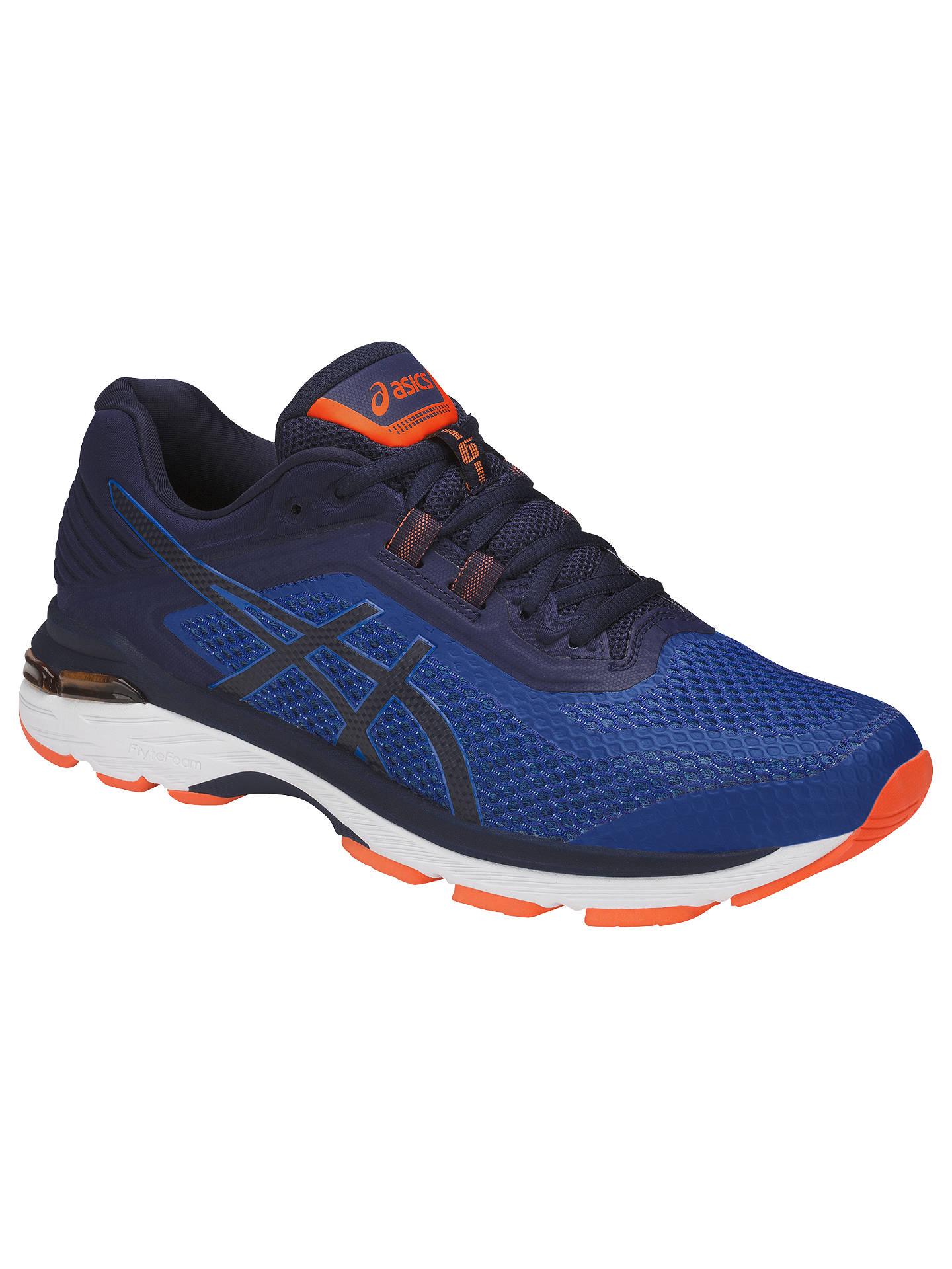 9c1d9194 Asics GT-2000 6 Men's Running Shoes, Smoke Blue at John Lewis & Partners