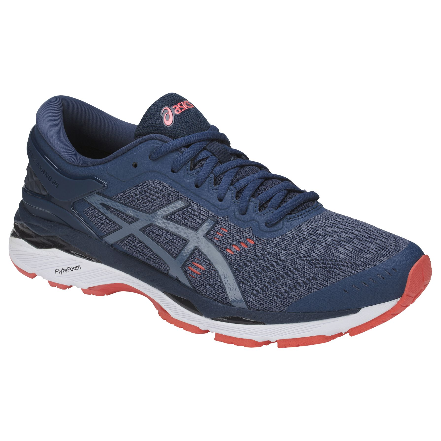 d840657b0825d Asics GEL-KAYANO 24 Men's Structured Running Shoes, Smoke Blue/Dark Blue,  Smoke Blue/Dark Blue