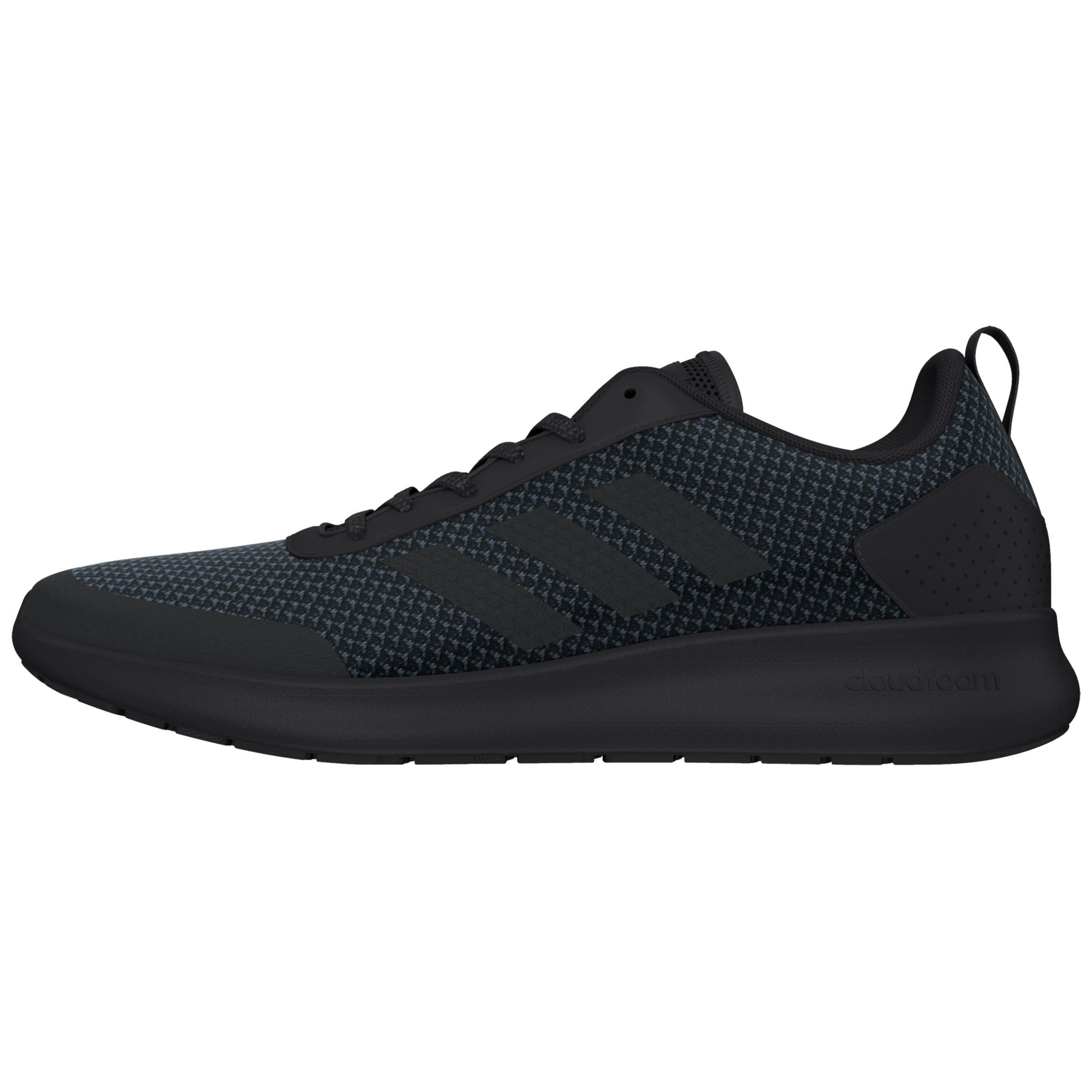 adidas Cloudfoam Element Race Running Shoes, Core Black at John ...