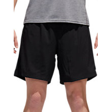 "Buy Adidas Response 7"" Running Shorts, Black Online at johnlewis.com"