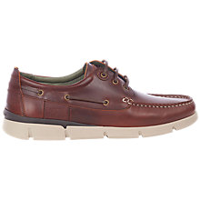 Buy Barbour George Boat Shoes, Brown Online at johnlewis.com