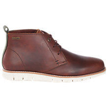 Buy Barbour Burghley Chukka Boots, Chestnut Online at johnlewis.com