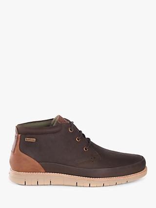 Barbour Nelson Mudguard Chukka Boots, Brown