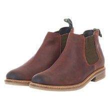 Buy Barbour Penshaw Low Ankle Chelsea Boots, Brown Online at johnlewis.com