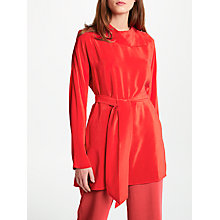 Buy Modern Rarity Silk Belted Collar Blouse Online at johnlewis.com