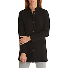 Buy Betty & Co. Textured Cardigan Coat, Black Online at johnlewis.com