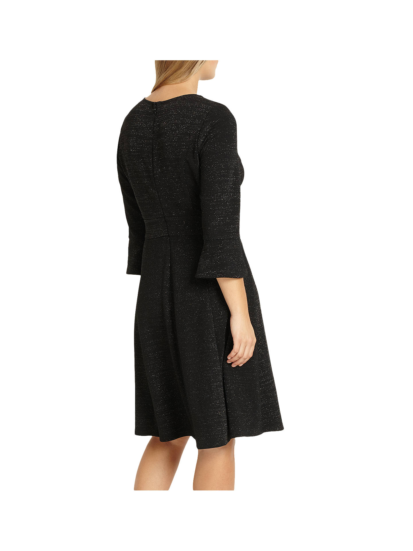 BuyStudio 8 Rochelle Dress, Black, 12 Online at johnlewis.com