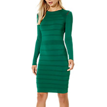 Buy Damsel in a dress Cold Shoulder Knit Dress, Emerald Online at johnlewis.com