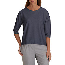 Buy Betty & Co. Fine Textured Top, Middle Blue Melange Online at johnlewis.com