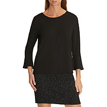 Buy Betty & Co Bell Sleeved Top, Black Online at johnlewis.com