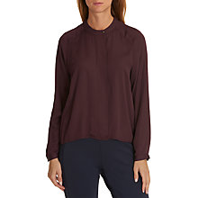 Buy Betty & Co One-Button Blouse, Autumn Red Online at johnlewis.com