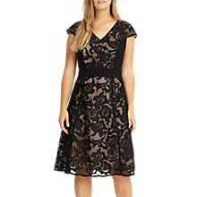 Buy Studio 8 Cleo Lace Dress, Black Online at johnlewis.com