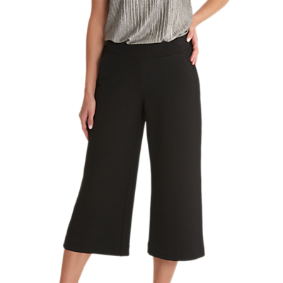 Product photo of Betty  co textured culottes black