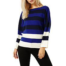 Buy Damsel in a dress Colour Splice Cashmere Blend Knit Jumper, Navy/Black/Ivory/Cobalt Online at johnlewis.com