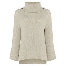 Buy Damsel in a dress Eva Chunky Jumper, Winter White Online at johnlewis.com