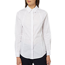 Buy Jaeger Slim Fit Classic Long Sleeve Shirt, White Online at johnlewis.com