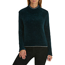 Buy Betty & Co. Chenille Ribbed Jumper, Teal Online at johnlewis.com