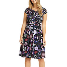 Buy Studio 8 Emma Floral Print Dress, Purple Online at johnlewis.com
