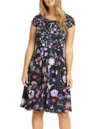Studio 8 Emma Floral Print Dress, Purple
