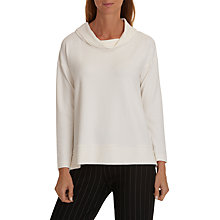 Buy Betty & Co. Cowl Neck Top, Snow White Online at johnlewis.com