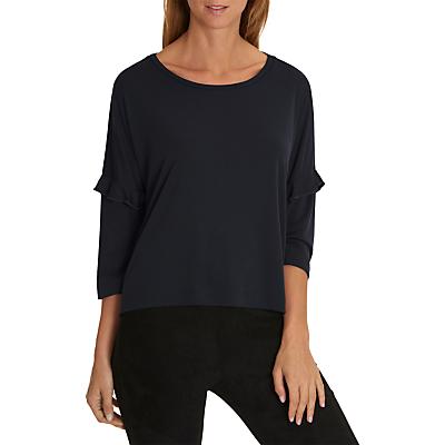 Betty & Co. Oversized Fine Rib T-Shirt, Night Sky