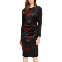 Buy Phase Eight Wilhelmina Floral Dress, Port Online at johnlewis.com
