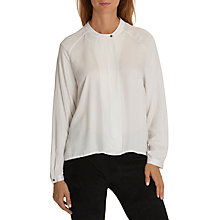 Buy Betty & Co. One Button Blouse, White Sand Online at johnlewis.com