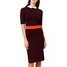 Buy Hobbs Christie Dress, Amethyst Online at johnlewis.com