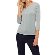 Buy Jaeger Essential Jersey Top, Slate Online at johnlewis.com